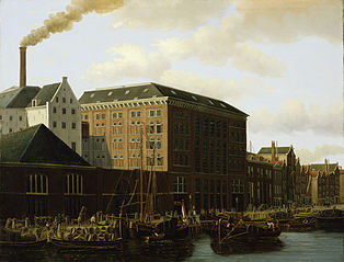 Sugar factory Berlijn on the Lauriergracht