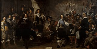 Company of captain Joan Huydecoper and luitenant Frans van Waveren
