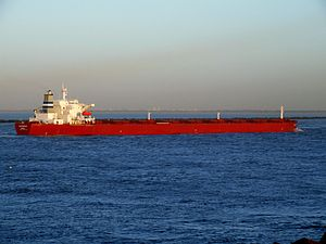 SA Fortius - IMO 9221217 - Callsign C6RT5 - approaching Port of Rotterdam, Holland 29-Nov-2006 photo-1.jpg