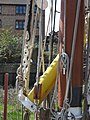 SB Decima at Dartford Lock stanliff and muzzel 8744.jpg