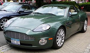 Gran Turismo 3: A-Spec - The Aston Martin Vanquish was one of the new cars in the game.