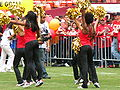 SF Gold Rush at 49ers Family Day 2009 3.JPG