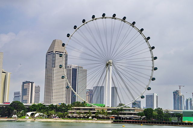 ride: the Singapore Flyer