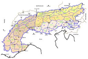 Cartina Muta Delle Alpi.Alpi Wikipedia