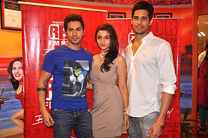 Student of the Year - Sidharth Malhotra, Varun Dhawan and Alia Bhatt, the first three debutantes ever to star in a Karan Johar directorial