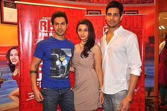 Student of the Year - Sidharth Malhotra, Varun Dhawan and Alia Bhatt, the first three debutantes ever to star in a Karan Johar directorial