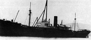 SS West Conob shortly after completion in 1919. She was renamed Mauna Loa in 1934.