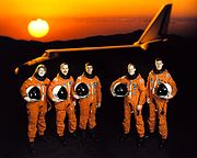 STS-43 Official crew portrait.jpg