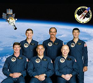 STS-44 - Image: STS 44 crew