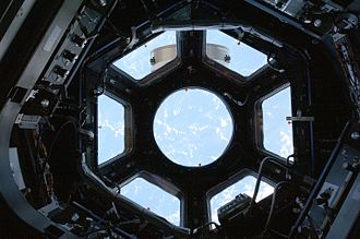 The Cupola's windows with shutters open. STS130 cupola view1.jpg