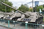 SU-100 '571' - Central Armed Forces Museum, Moscow (38829608462).jpg