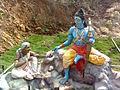 Sabari Rama statues at Gangadhara Simhachalam.jpg