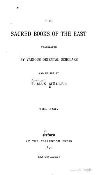 File:Sacred Books of the East - Volume 35.djvu