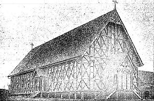 Mount Morgan, Queensland - Sacred Heart Catholic Church, 1907