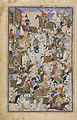 Safavid Dynasty, Battle Scene, by Mahmud Musawwir, 1525-1550 AD (2).jpg