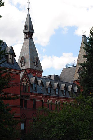 Samuel Curtis Johnson Graduate School of Management - Sage Hall has housed Johnson since 1998.