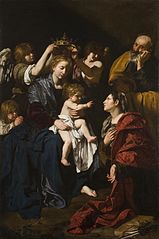 The Holy Family with Saint Catherine