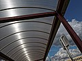Sainsbury's supermarket covered walkway roof at Chingford, London, England .jpg