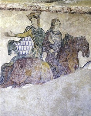 Women in the Middle Ages - Eleanor of Aquitaine was a wealthy and powerful woman.