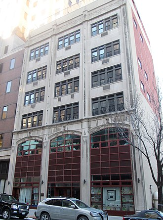 Saint Ann's School (New York City) - The school's Farber Building at 153 Pierrepont Street