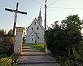 Saint George church in Mieszkowice, Opole Voivodeship, 2020.09.14 04.jpg