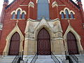 Saint Joseph Catholic Church (Springfield, Ohio) - portals.JPG