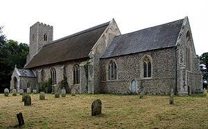 Paston, Norfolk - Image: Saint Margaret Paston