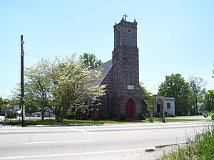 Saint Thomas Episcopal Church and Rectory - Church in 2008