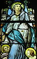 Saint Vincent de Paul Catholic Church (Mount Vernon, Ohio) - stained glass, Immaculata (detail).JPG