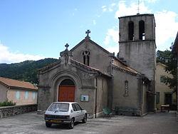 Sainte-Cécile-d'Andorge (Gard, Fr), l'eglise.JPG