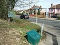 Salt Box And Road Junction - geograph.org.uk - 1765833.jpg