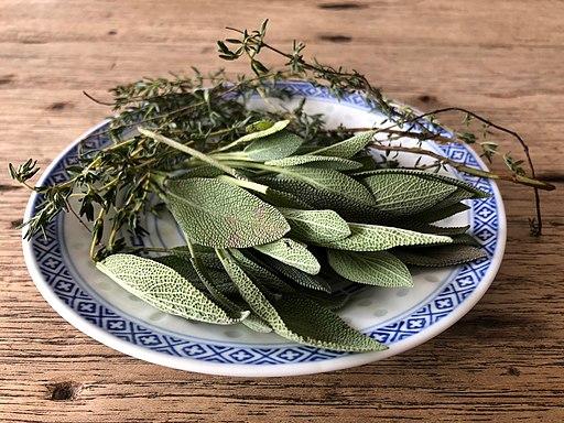 Salvia-tomillo-sage-thime