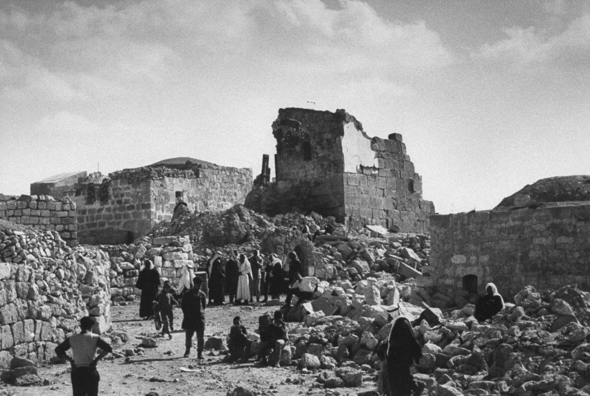 """1200px Samu Incident - """"Algunas de las masacres de civiles palestinos luego de la fundación del ente sionista de Israel en 1948"""""""
