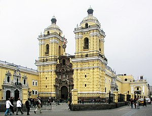 Lima District - San Francisco de Asís Church
