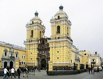 Lima District - San Francisco de Asís Church