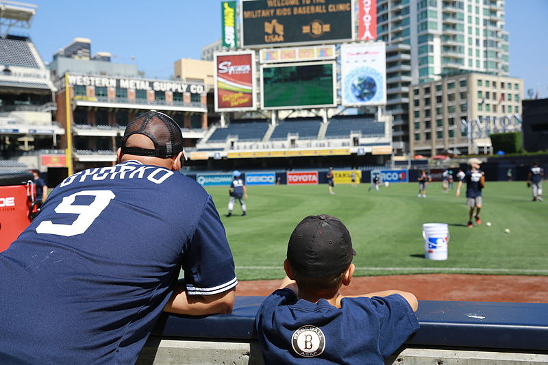 File:San Diego Padres host baseball clinic for military children 140624-M-PC317-002.jpg