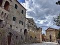 San Marcello - Mura settentrionali e chiesa di Santa Maria del Rosario.jpg