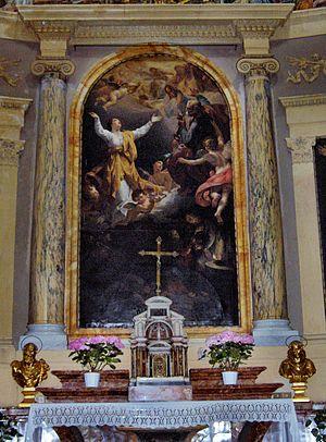 Bernardino Nocchi - Glory of Santa Pudenziana, Santa Pudenziana, Rome