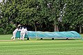 Sandwich Town CC mobile cricket pitch covers at Sandwich, Kent, England 07.jpg