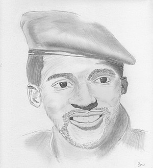 Thomas Sankara - Sketch of Sankara