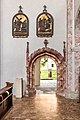 Sankt Georgen am Längsee Stiftskirche hl. Georg gotisches S-Portal 29082018 4467.jpg