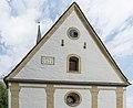 Sankt Urban Pfarrkirche hl Urban West-Giebelwand 17052015 3738.jpg