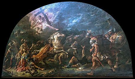 Santa Giustina (Padua) - Conversion of St. Paul by Gaspare Diziani