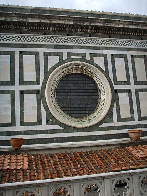 Rose window - Oculus – Florence Cathedral