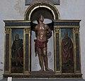 Santa maria maddalena de' pazzi, fi, trittico di san sebastiano, leonardo del tasso e raffaellino del garbo.JPG