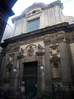 Purgatorio ad Arco - Image: Santamariadelleanime