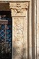 Santo Corpo di Cristo frontone dettaglio portale Brescia.jpg
