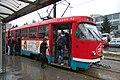 Sarajevo Tram-206 Line-3 2011-10-21.jpg