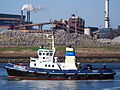 Saturnus - IMO 7719052, at locks of IJmuiden, Port of Amsterdam, pic1.JPG