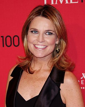 Savannah Guthrie - Guthrie at the 2012 Time 100 gala